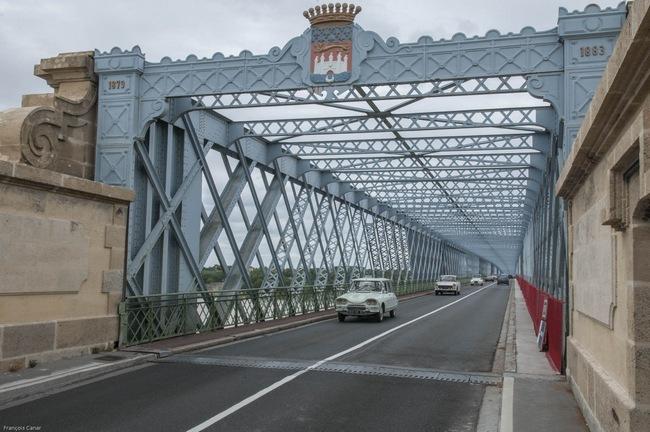 Le pont Eiffel, cliché F. Canar