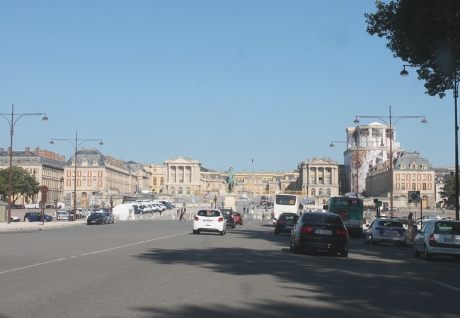 Versailles, le palais sans les cars