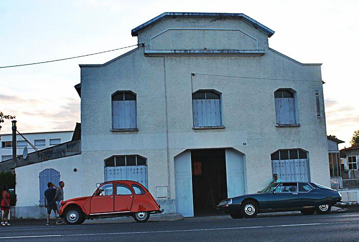 Sainte-Maure-de-Touraine, le garage Dupuy, ex Relais Paris-Pyrénnées