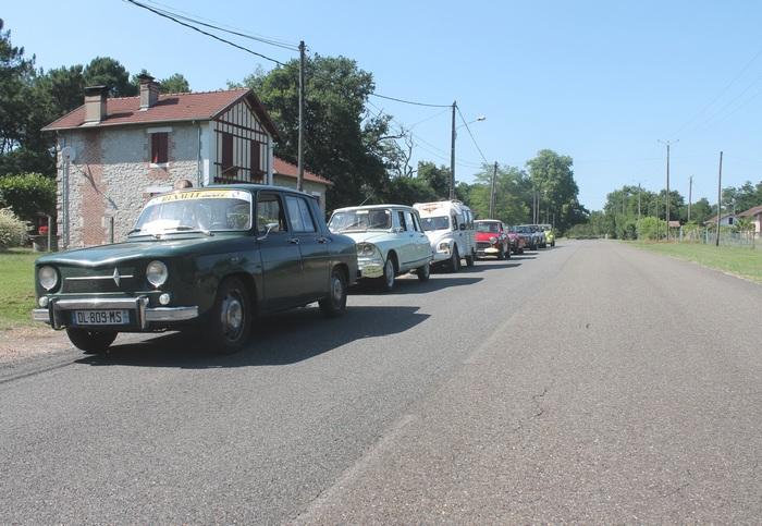 Le hameau de Laharie, Nationale 10 jusqu'en 1972