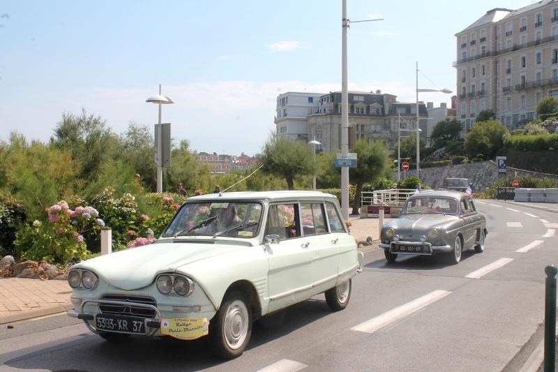Biarritz, première vue sur l'océan