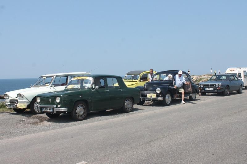 Arrêt sur la Corniche basque