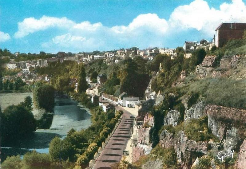Poitiers, les rochers du Porteau