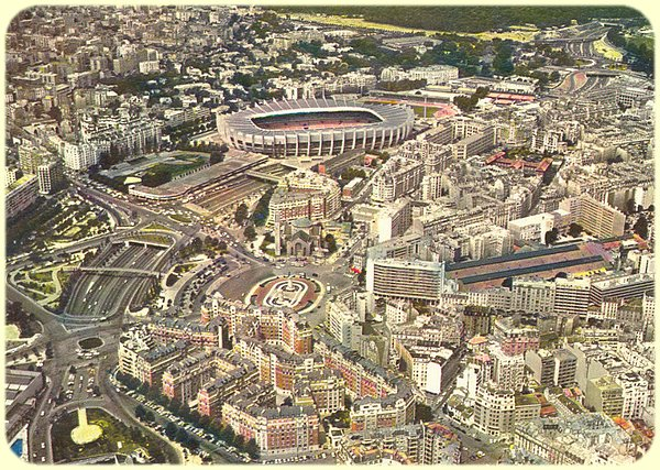 Paris versailles - Parc des princes porte de saint cloud ...