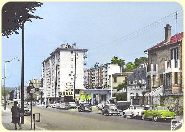 Chaville, l'avenue Salengro