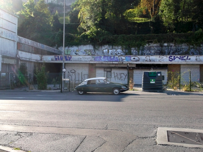 L'ancienne station-service Barrouilhet, rue de Bordeaux