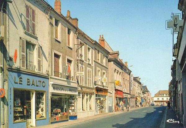 Cloyes rue annees 1970