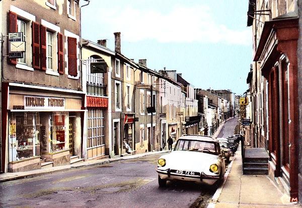 La Grand'Rue dans les années 1960