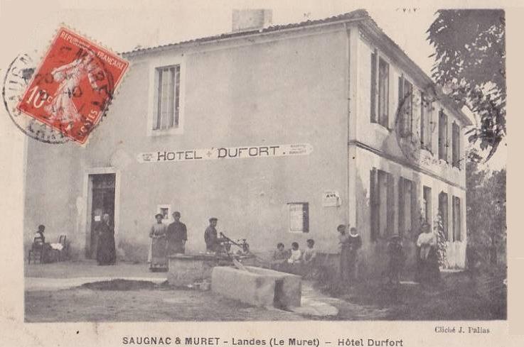 L'auberge Lefort au début du XXe siècle