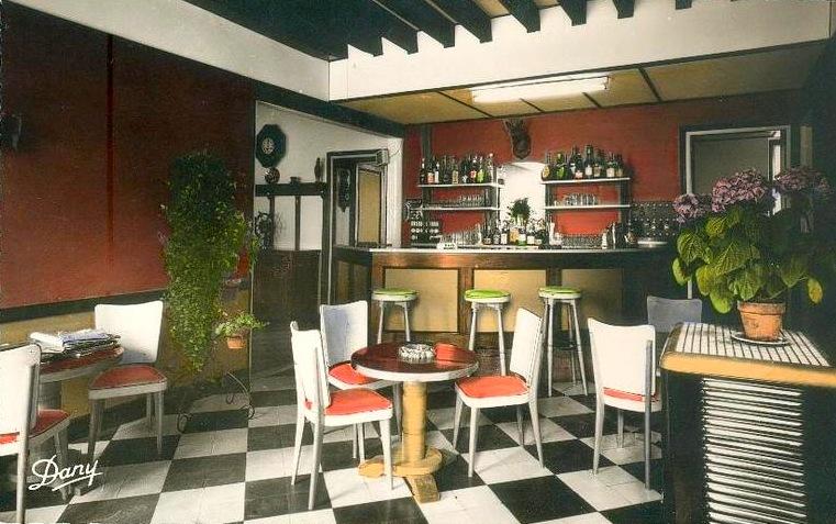 La bar dans les années 1960