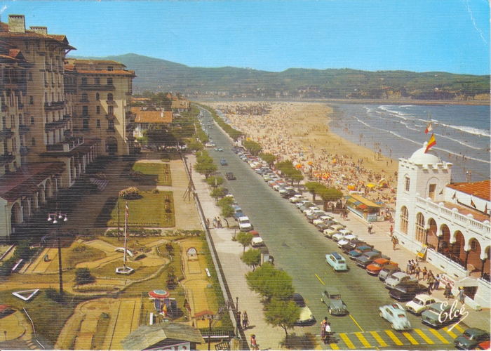 Hendaye plage, le casino
