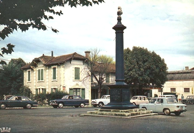 Labouheyre, la colonne Brémontier