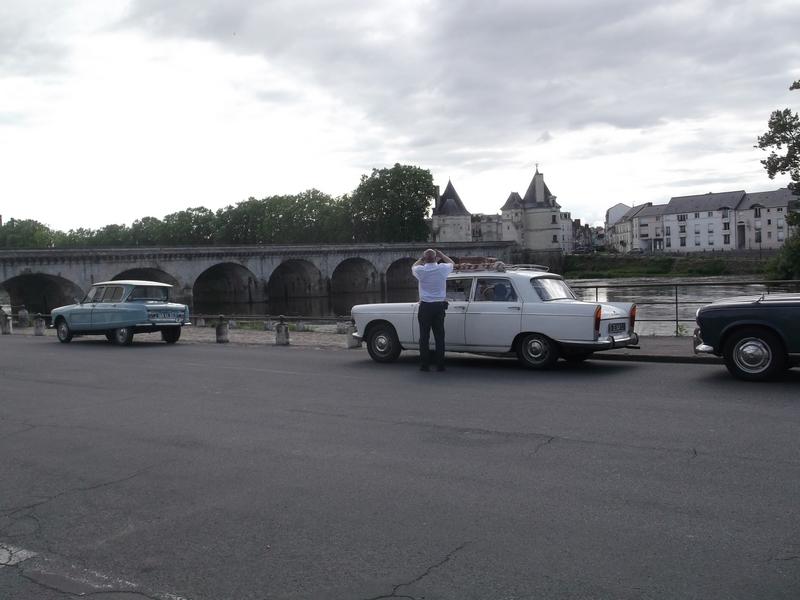 Le pont Henri IV sur la Vienne à Châtellerault