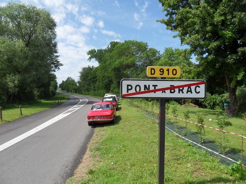 Sortie sud de Pont-à-Brac