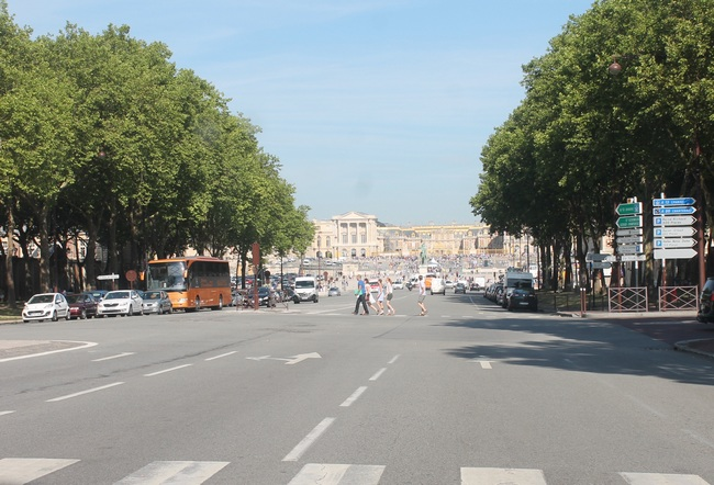 Versailles, l'avenue de Paris