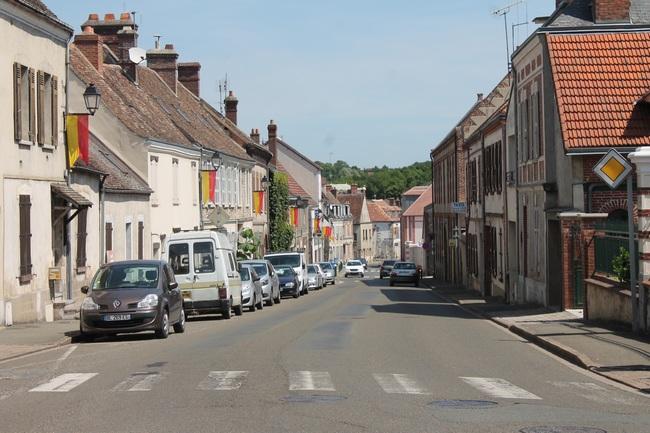 Maintenon, rue de la Ferté, Nationale 10 jusqu'en 1949