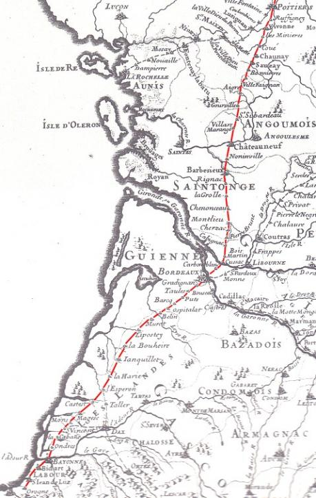 Relais de postes 1691