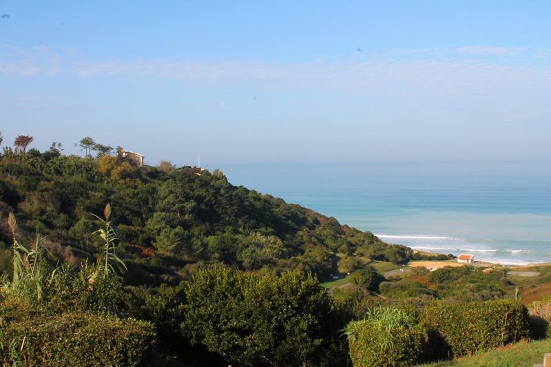 Bidart, premier panorama sur l'océan