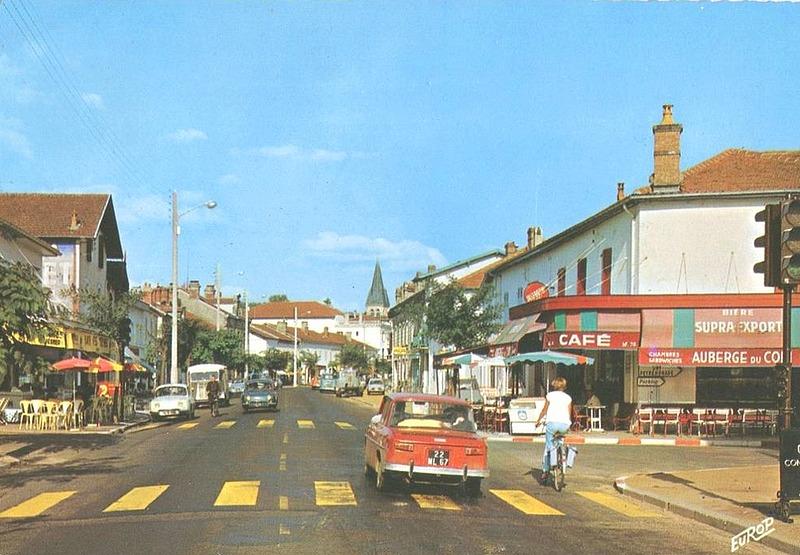 Saint-Vincent-de-Tyrosse, l'avenue nationale