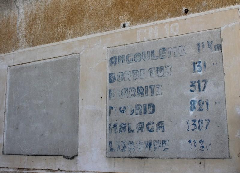 Fresque de l'ancien Snack'Route, La Chignolle