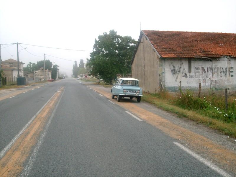 Laruscade, le hameau de Pierre Brune